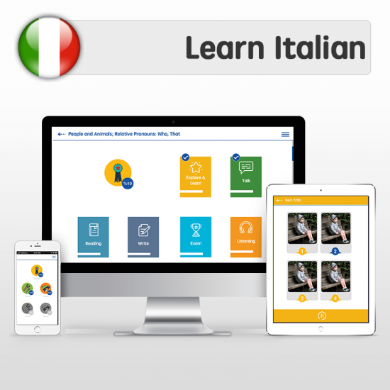 eLLC Italian learning program