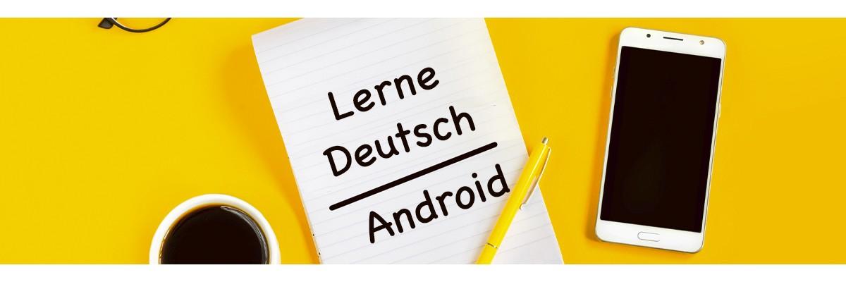 En İyi Almanca Öğrenme Android Uygulamaları