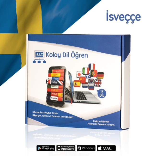 eLLC İsveçce Eğitim Seti Sertifikalı