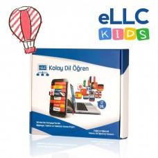 eLLC Kids Çocuk Dil Eğitim Seti (Hediyeli) - 3-7  yaş